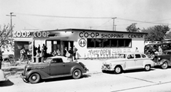 Co-Op Store on Barrington Avenue 1948