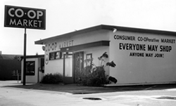Expanded Co-Op Store in 1953